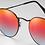Thumbnail: แว่นกันแดด RAYBAN : RB3447 - Red