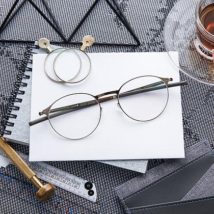 Eyeglasses IC! BERLIN : Etesians - Shiny Bronze