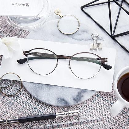 Eyeglasses IC! BERLIN : Maik S. - Teak