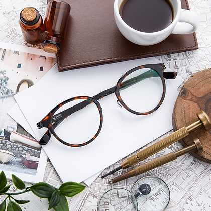 Eyeglasses IC! BERLIN : Eric D. - Magma Black