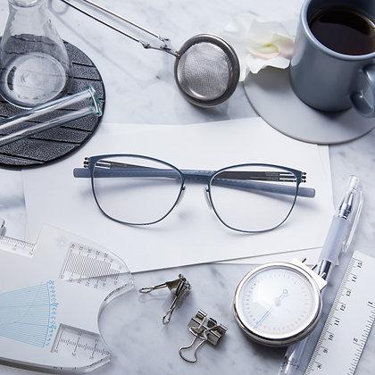 Eyeglasses IC! BERLIN : Sandy G. - Taubenblau