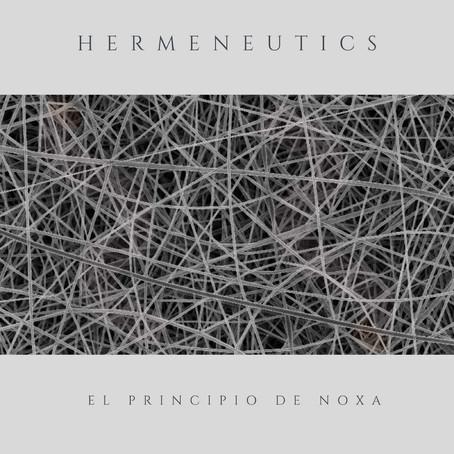 EL PRINCIPIO de NOXA: Hermeneutics (2021) (FR)