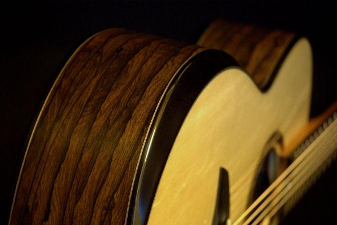 Echizen Guitars Armrest Bevel