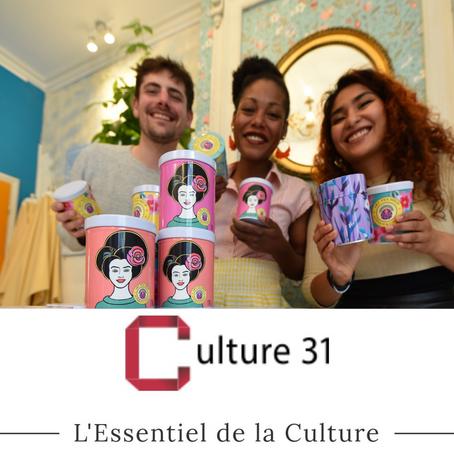 ART TEA SHOP DANS L'ESSENTIEL DE LA CULTURE !