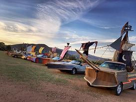 Street Ships Cars