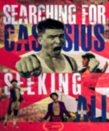 Searching for Cassius, Seeking Ali Film Poster