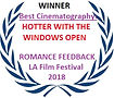 Best Cinematography Romance Feedback Film Festival