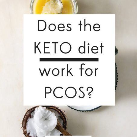 DOES THE KETO DIET WORK FOR PCOS?