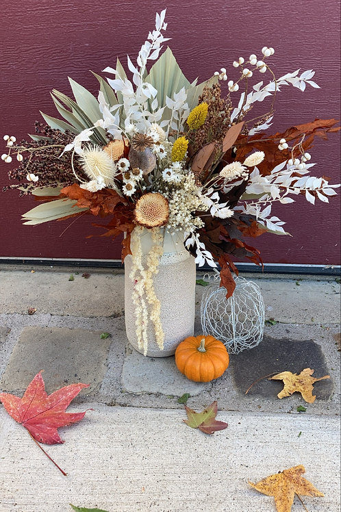 Thanksgiving Perserved Floral arrangement