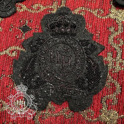 Black Harlem Haberdashery Crest Patch