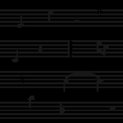 Sheet Music White