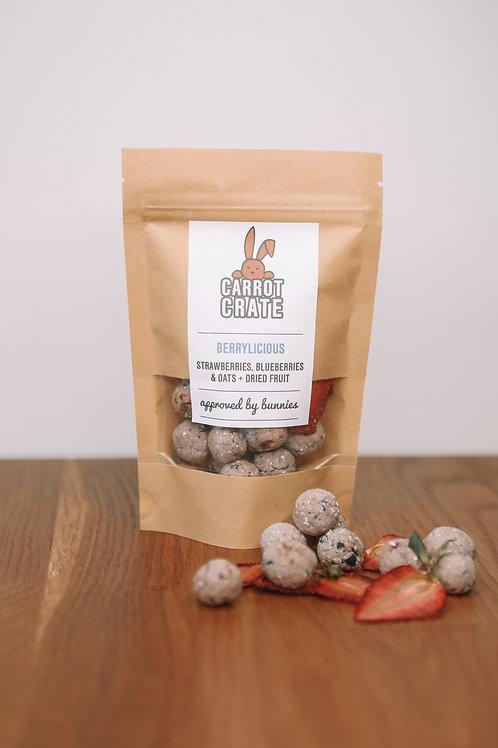 Berrylicious - Treats + Dried strawberry!