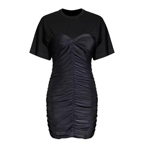 """Black swan"" t-shirt dress"