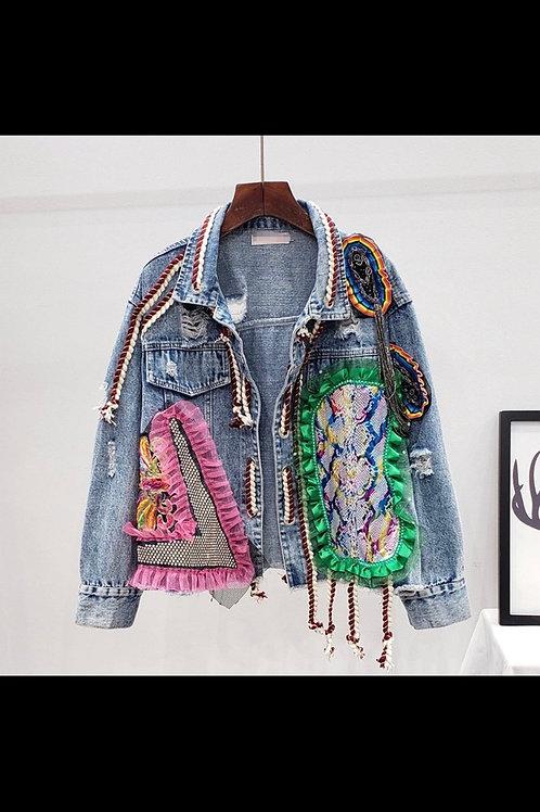 """""""I need that"""" denim jacket"""