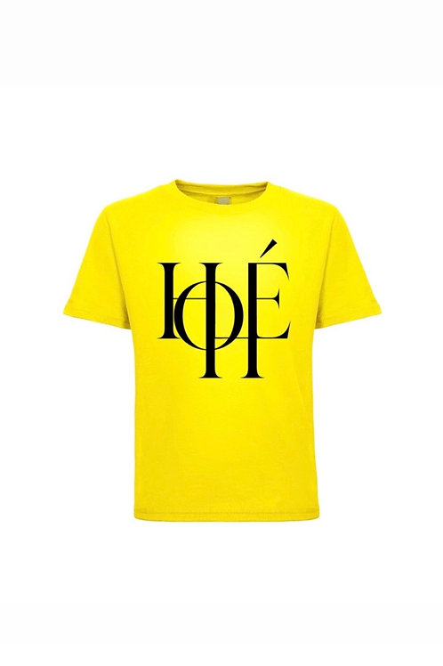 """HOHÉ essential tee """"yellow"""""""