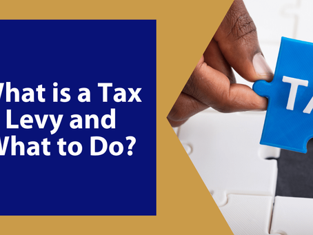 What is a Tax Levy and What to Do? | By Brian Barto, EA | Winchester, VA