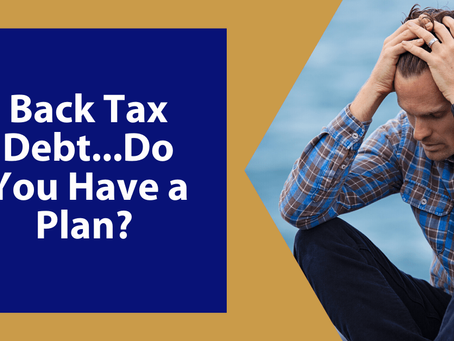 Back Tax Debt in Winchester, VA?  Do you have a plan? | By Brian Barto, EA