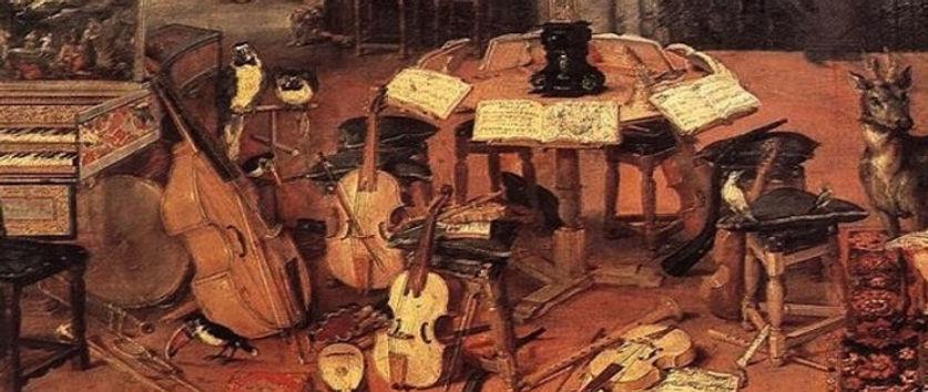Strumenti barocco musicale