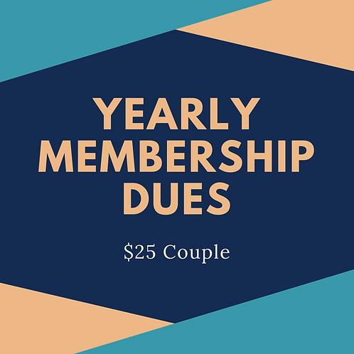 Couple Membership (w/ PayPal fee)
