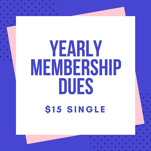 Single Membership (w/ PayPal fee)