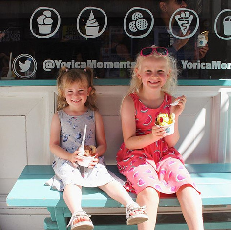"Look at the happy ice cream smiles on these beautiful sisters' faces! 💕 Free-from indulgence for everyone! #14allergies ⁣⠀⁠⠀ ⁣⠀⁠⠀ Their mum sent us this great message: ""My two daughters were diagnosed in 2018 with Coeliac Disease so when I told them that, in our trip to London, we would be visiting an ice cream shop which made fresh, gluten free waffles topped with delicious ice cream, they were so excited. Both girls thoroughly enjoyed this eagerly anticipated treat and it was so nice to be able to pop in and order just what we fancied without having to check ingredients! We will definitely visit again when we are in London!"" 🤗⁠⠀"