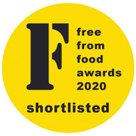 Yorica! is shortlisted for the 2020 Free From Food Awards.
