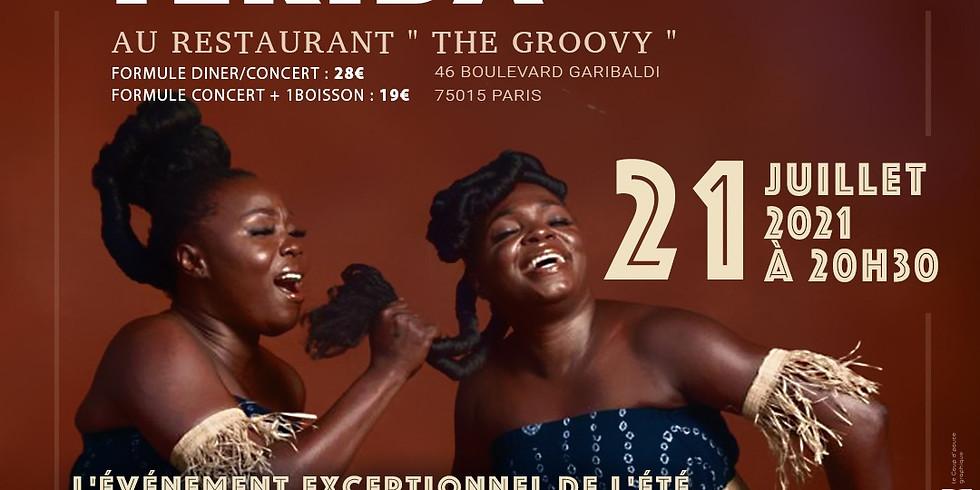 Tériba en Dîner concert au Restaurant le Groovy