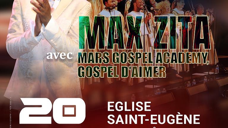 FESTIVAL GOSPEL DU SUD avec Max ZITA, Mars Gospel Academy, Gospel d'Aimer + Guests