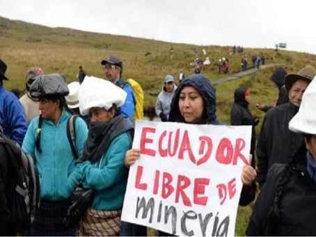 Ecuador: el pueblo de Cuenca resiste con impulso a proyectos mineros 'estratégicos'