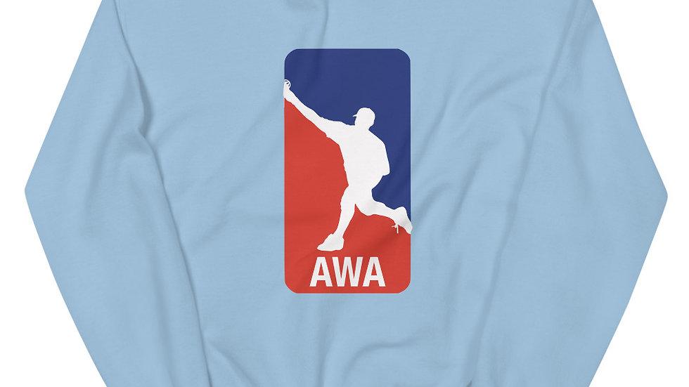 Unisex AWA Wiffle Crew Sweatshirt
