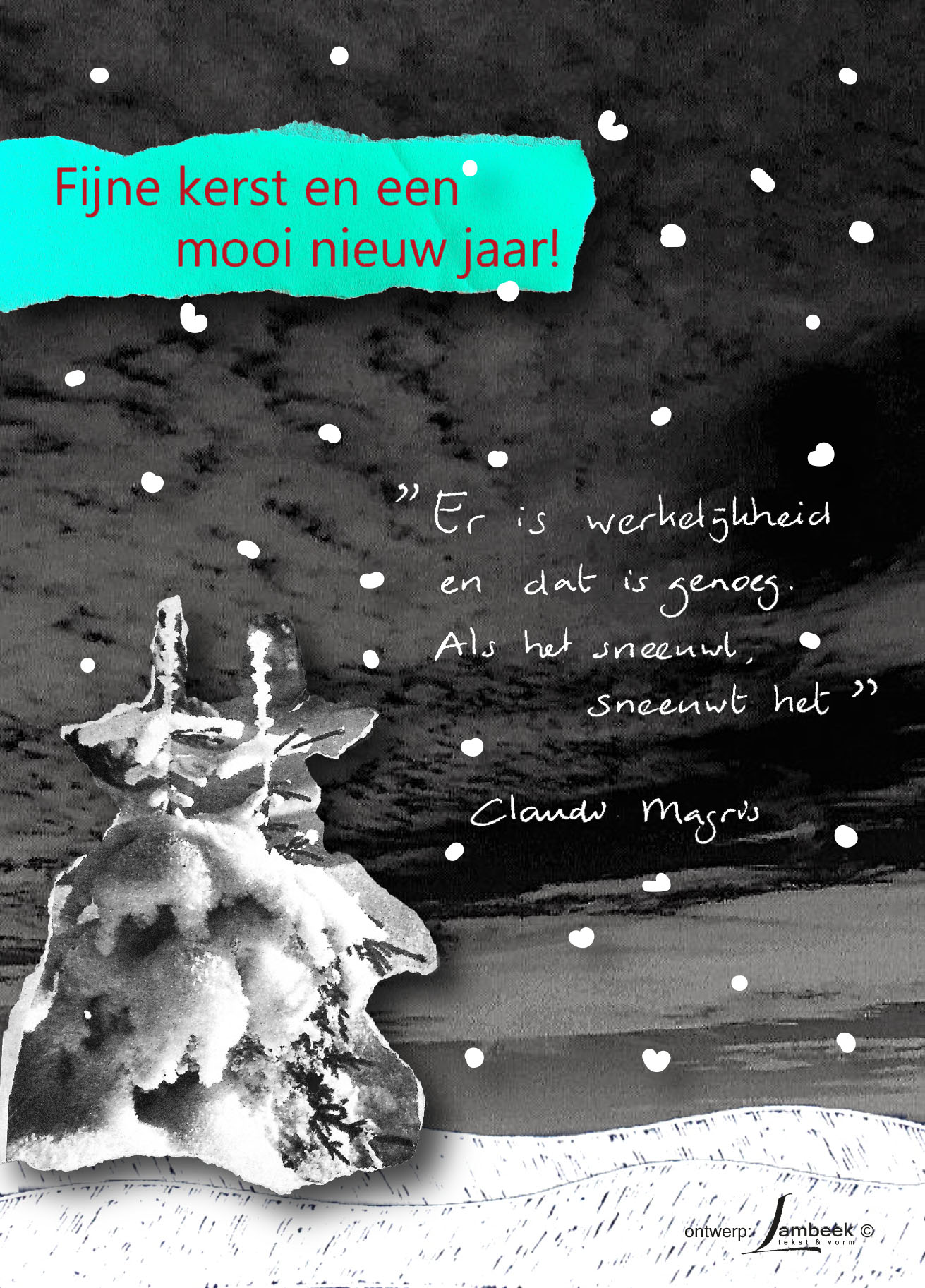 kerst-nieuwjaarskaart