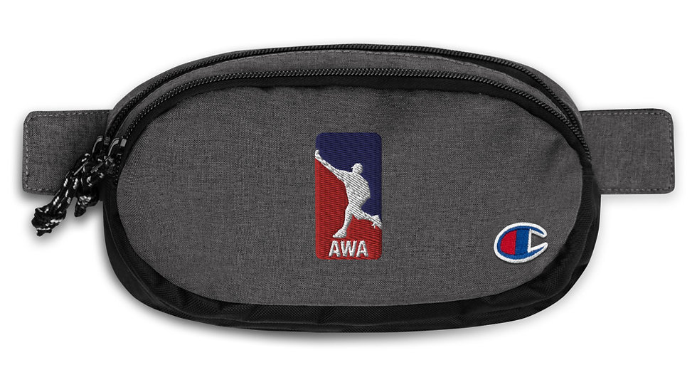 AWA Wiffle Champion fanny pack