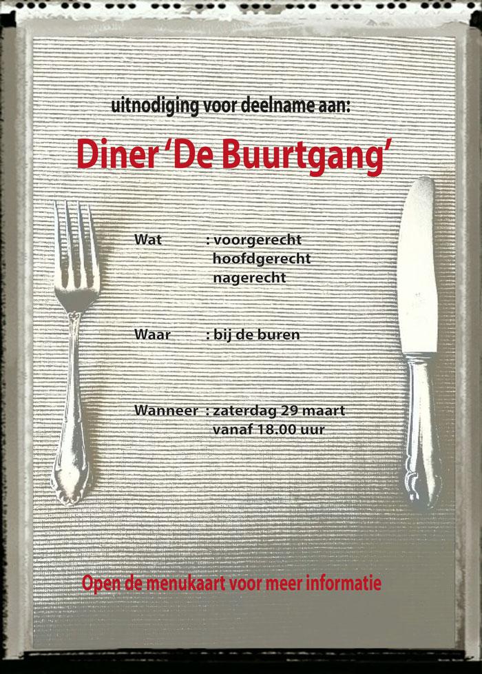 uitnodiging diner