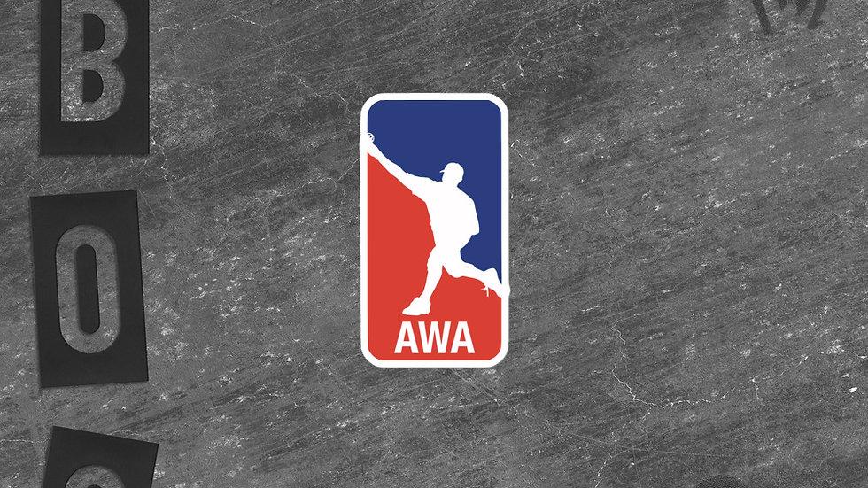 AWA Sticker