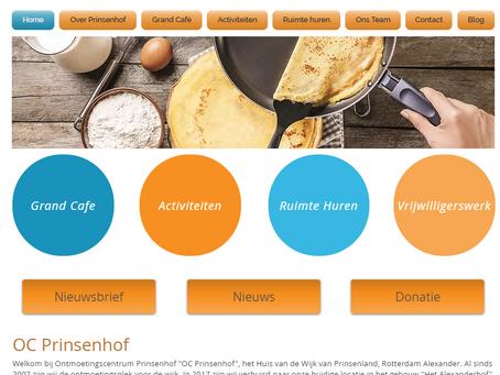 Nieuwe website van OC Prinsenhof