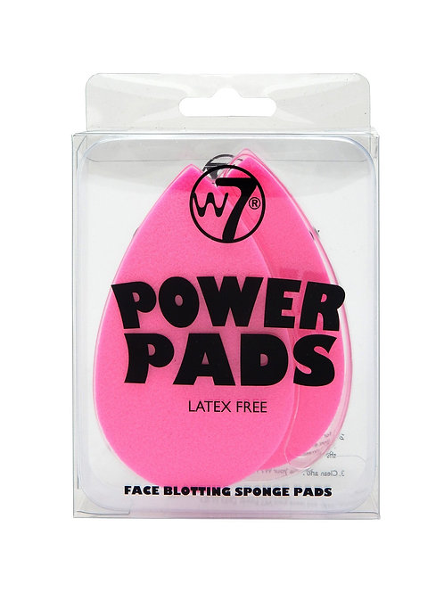 W7 - POWER PADS 2 db sminkszivacs