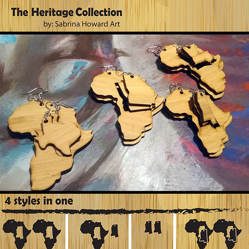 Africa (other U.S. States) Earrings