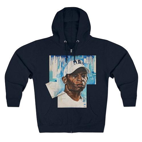 Transforming Jackson Optimally zipped hoodie
