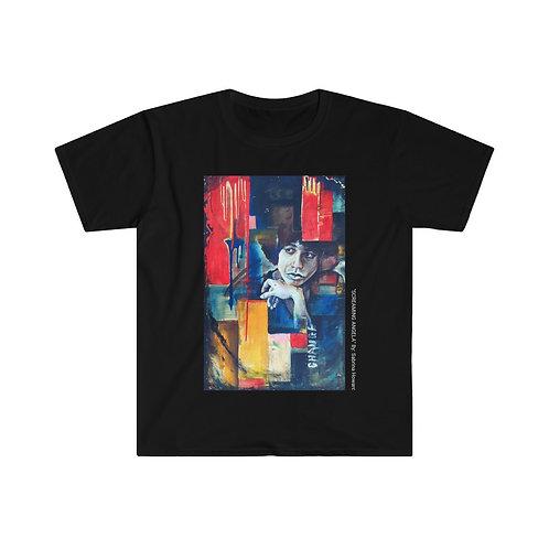 """""""Screaming Angela"""" Unisex Softstyle T-Shirt"""