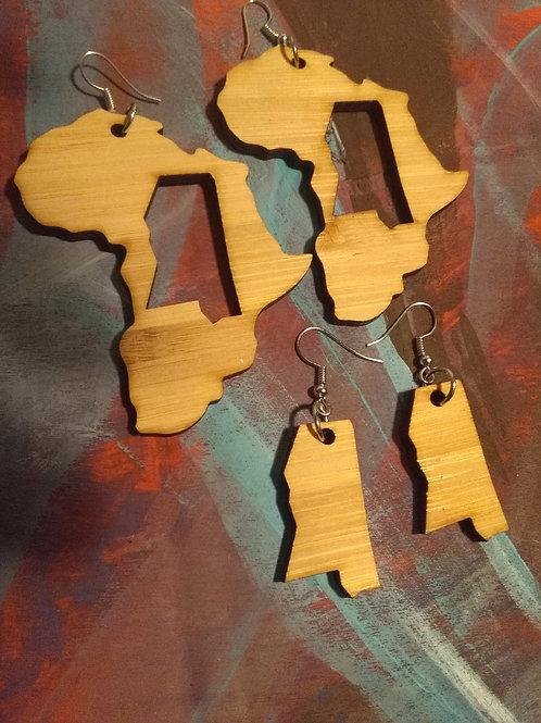 Africa Mississippi Earrings