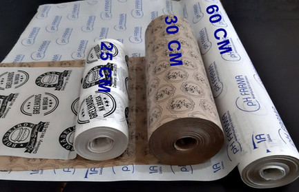 Bobinas de papel personalizadas