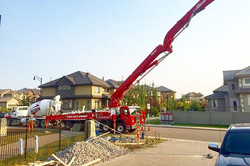Successful pour 💪 #concrete#edmonton#ye