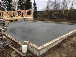 Keeping busy 👊👊 #concrete#edmonton#yeg