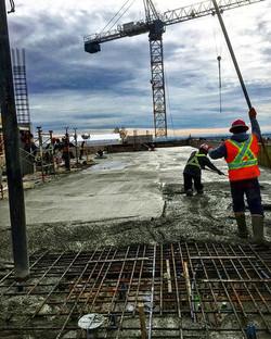 Another slab 👊 #concrete#liquidrockcont