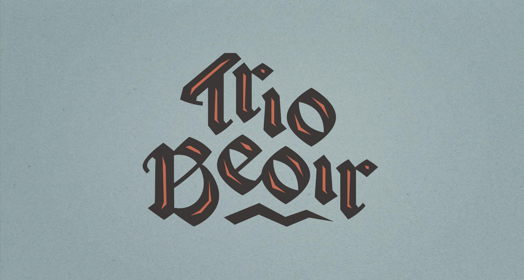 Trio Beoir logo design