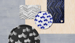 Laine trays and Olki cutting boards