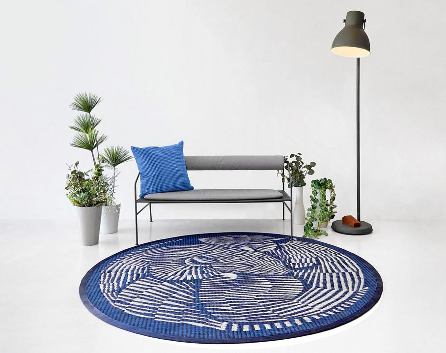 Mus round rug