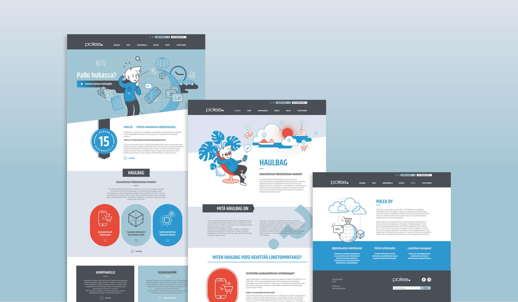 Polea web design
