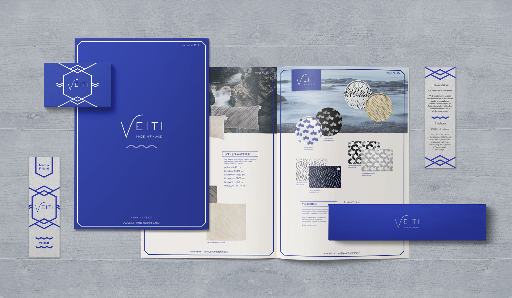 Veiti visual identity