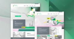 Happy Textiles web design